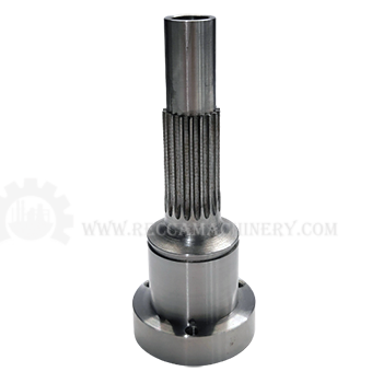 Custom gear Shaft with hub