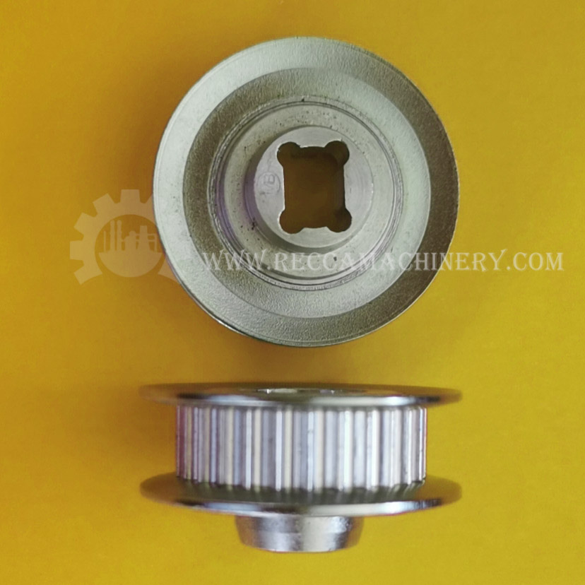 timing belt pulley with spcial bore